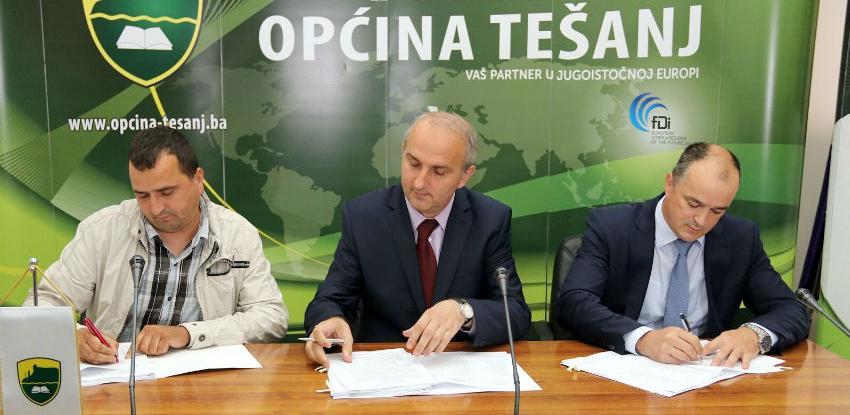 Novi ugovor za izgradnju kanalizacione mreže u Tešnju vrijedan 4,4 miliona KM