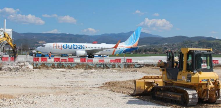 Rekonstrukcija zrakoplovne parkirne platforme na Aerodromu Sarajevo