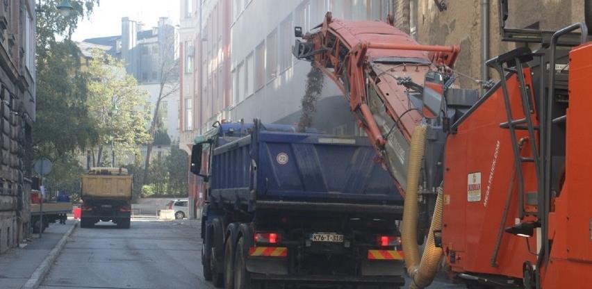 Bosman započeo radova na sanaciji saobraćajnice u Ulici Danijela Ozme