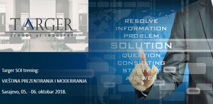 Targer School of Industry trening: Vještina prezentiranja i moderiranja