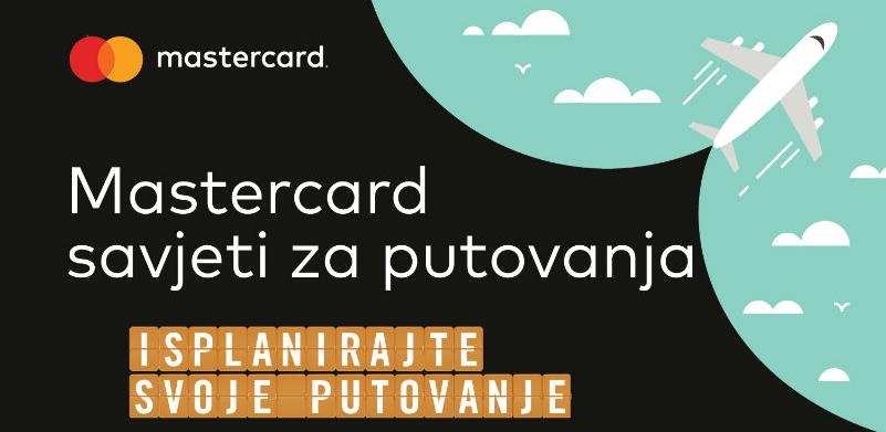 Mastercard savjeti za sigurna putovanja: Kartice obavezan saputnik bh. turista