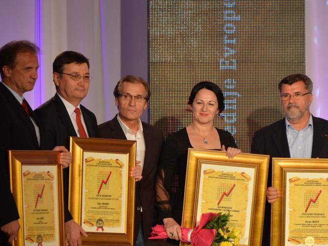 Dodijeljene 22 nagrade najuspješnijim menadžerima BiH i regiona