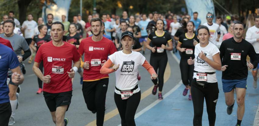 Više od 1.100 učesnika trčalo naAUDI B2B RUN utrci u Sarajevu