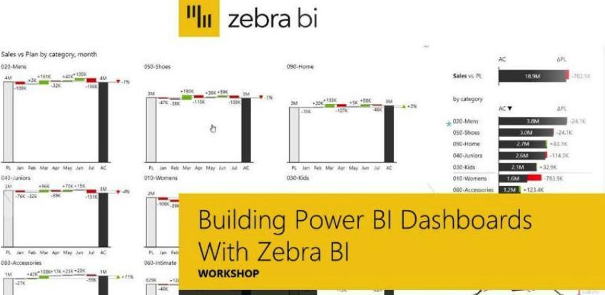Najnovija edukacija u Kontroling centru Kognosko: Zebra BI visuals for Power BI