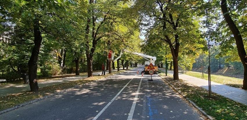 Započeli radovi na rekonstrukciji javne rasvjete na dijelu Vilsonovog šetališta