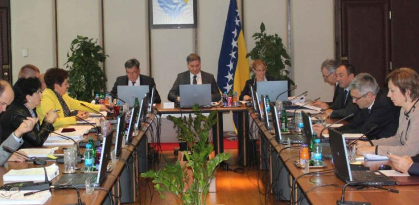 Vijeće ministara o izmjenama Zakona o financiranju bh. institucija