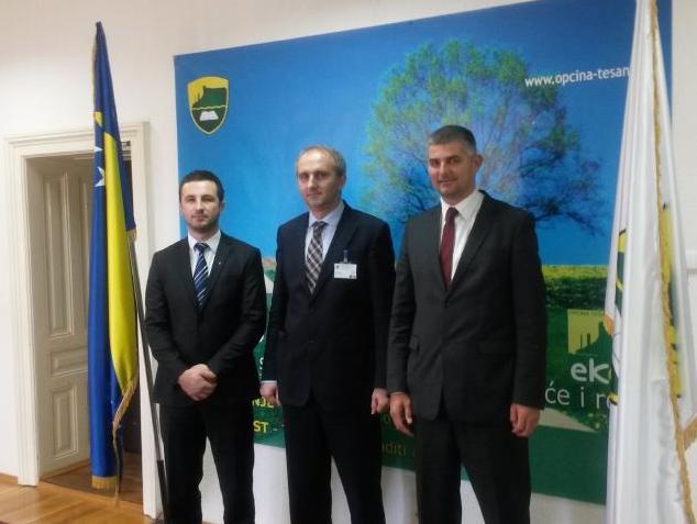 Predstavnici Općine Novi Grad u posjeti Tešnju i Modriči