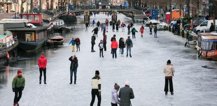 Nizozemci nakon tri godine dočekali klizanje kanalima
