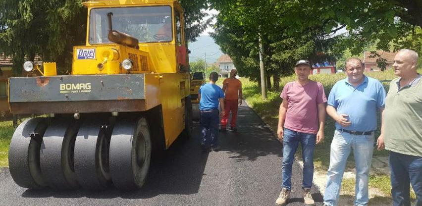 Okončani radovi na regionalnoj cesti R407a Velagići-Sanica