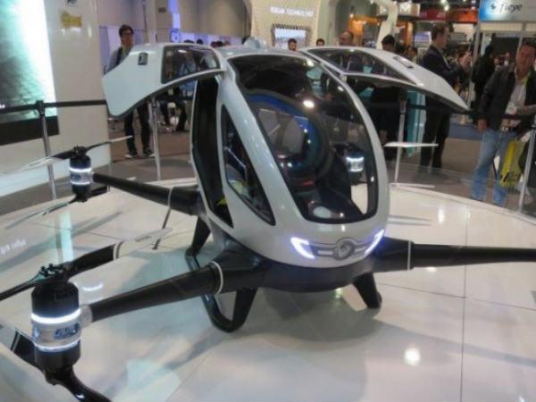 'Leteći taksi': Dron bez vozača koji radi na principu Ubera