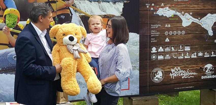 Džekina kćerka Una najmlađa ambasadorica Nacionalnog parka Una