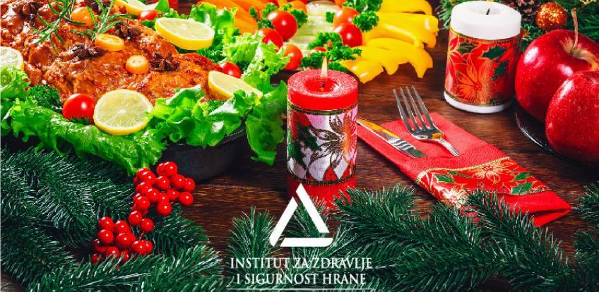 Savjeti INZ-a za pravilnu prehranu uoči predstojećih praznika