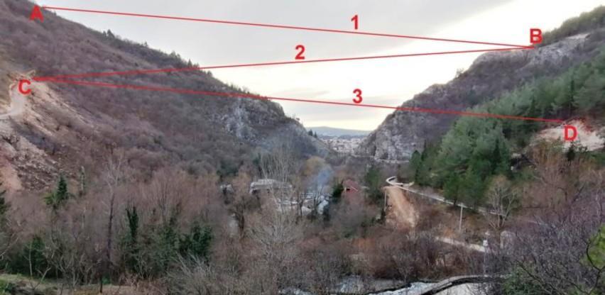Pogledajte zip line vožnju nad širokobriješkim prirodnim biserom Borak