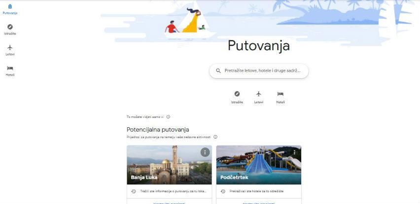 Google i putovanja: Nove funkcije za moderne putnike