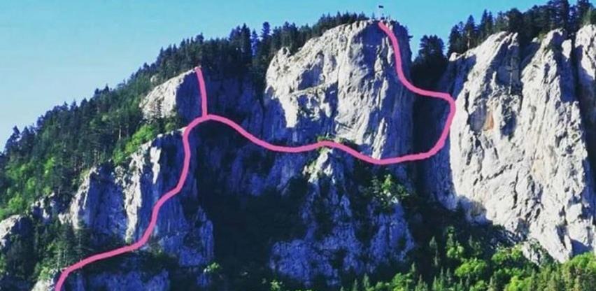 Novi turistički sadržaj: Uskoro postavlјanje ferate na lokalitetu Crvene stijene