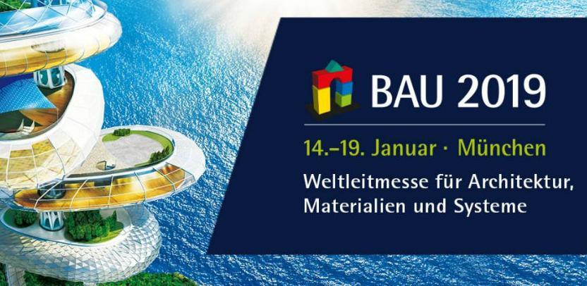 Sajam arhitekture, građevinskih materijala i sistema BAU 2019