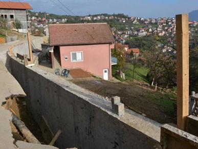 Ugovorena sanacija tri klizišta u Novom Gradu