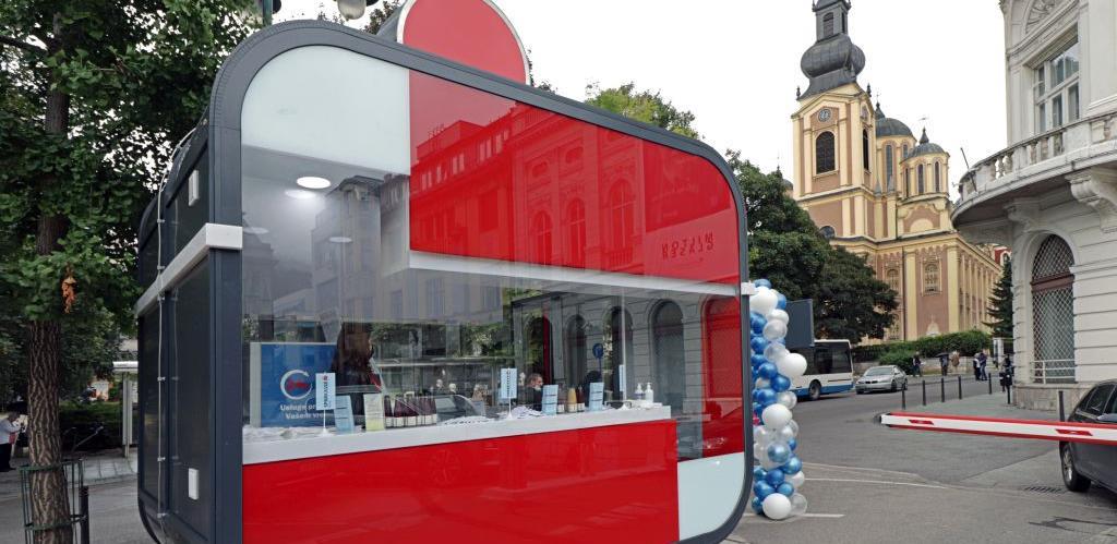 Otvoren S BOX - samouslužna poslovnica Sparkasse Bank u centru Sarajeva