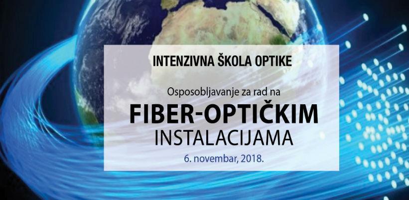 Intenzivna škola optike - osposobljavanje za rad na fiber-optičkim instalacijama