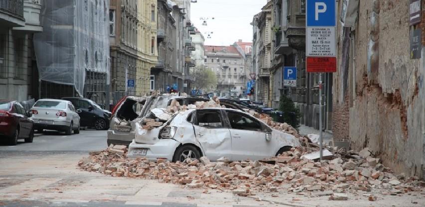 Dva snažna potresa u nedjelju ujutro potresla Zagreb