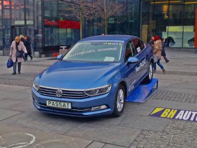 Volkswagen Passat automobil godine u Bosni i Hercegovini