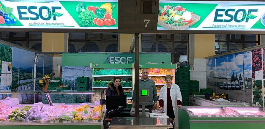 ESOF otvorio maloprodajno mjesto u Gradskoj tržnici Markale