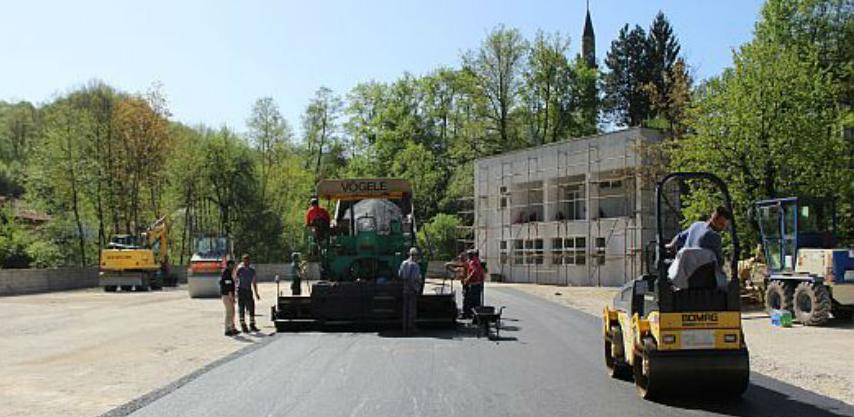 Privode se kraju radovi na izgradnji sportskog i rekreacionog centra u Sapni