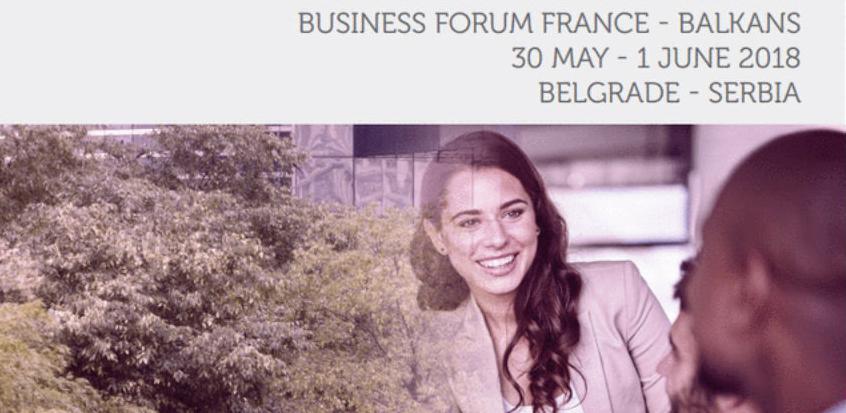 Poslovni forum 'France-Balkans 2018' u Beogradu