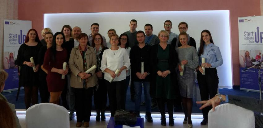 StartUp Akademija u Gračanici i Žepču omogućila realizaciju poslovnih ideja