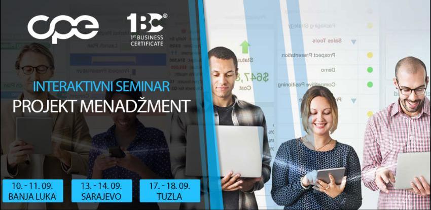 Dvodnevni interaktivni seminar - Projekt menadžment