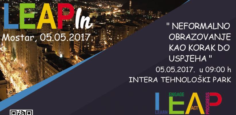 LEAPin Mostar – uvod u jednu od najvećih regionalnih konferencija za mlade