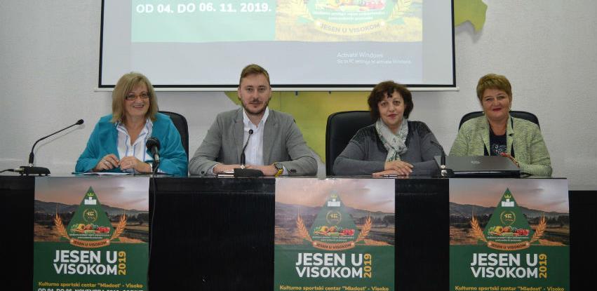 """""""Jesen u Visokom"""" okuplja 85 izlagača iz 32 grada širom BiH"""
