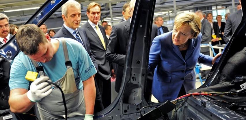 Zahuktava se njemačka industrija, sve više narudžbi