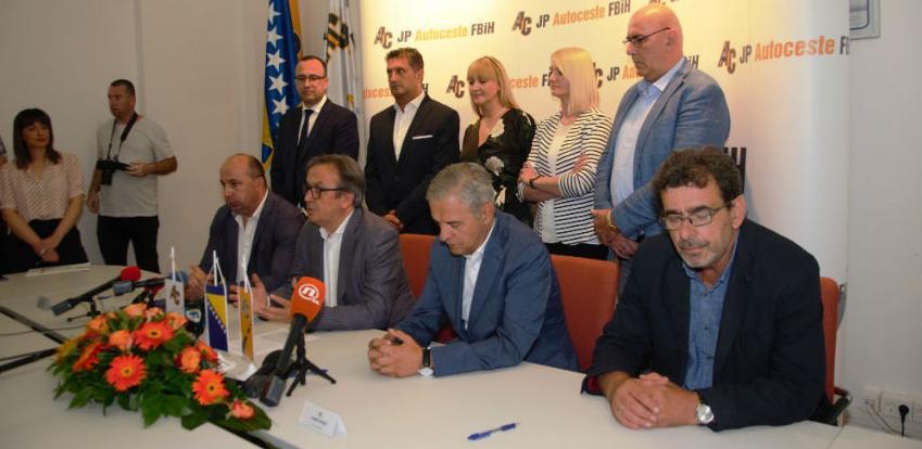 Potpisan ugovor o gradnji autoputa kod Zenice u vrijednosti od 60 miliona eura