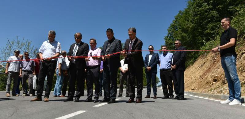 Otvorena rekonstruisana dionica regionalnog puta Sapna – Priboj