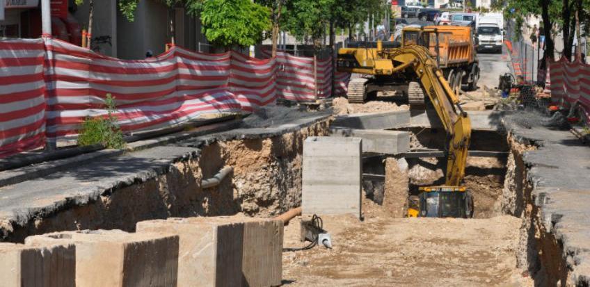 Izgradnja lijevoobalnog kolektora u Mostaru ide planiranom dinamikom