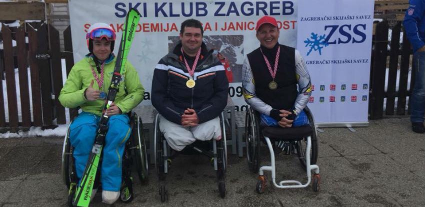 Bh. paraolimpijac Fahro Ćatović bronzani u Zagrebu