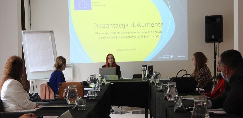 Održan sastanak za implementaciju Vodećih načela o poslovanju i ljudskim pravima UN