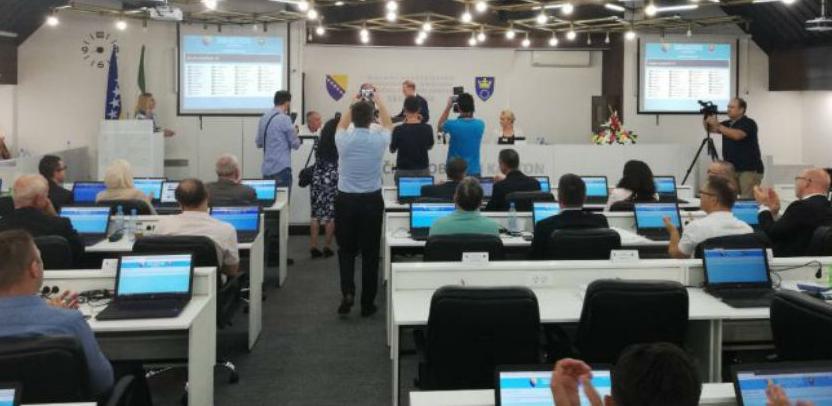 """Kakanjski proizvod – informacioni sistem """"eParlament"""" i u Skupštini ZDK"""