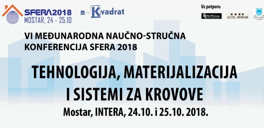 """Konferencija """"Sfera 2018: Tehnologija, materijalizacija i sistemi za krovove"""""""