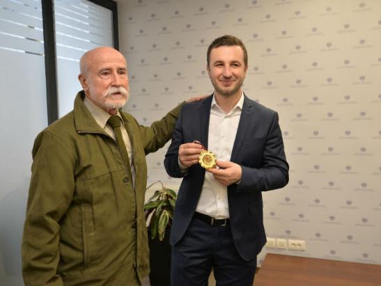 Načelnik Efendić ugostio Huseina Hujića, direktora IFIA