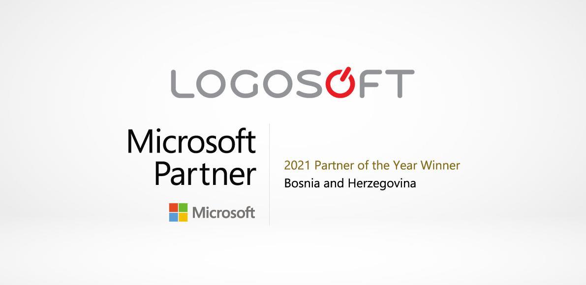 Kompanija Logosoft izabrana kao Microsoft partner godine za 2021. godinu