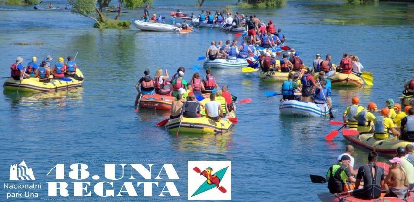 Program održavanja 48. internacionalne turističke Una Regate