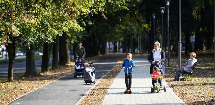 Uz Istočni tranzit: Izgrađeno 1,2 kilometra biciklističkih i pješačkih staza