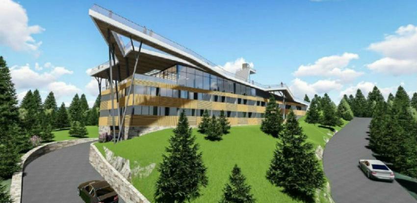 """Za projekt izgradnje hotela """"Vidikovac"""" milion KM - izgradnja naredne godine"""