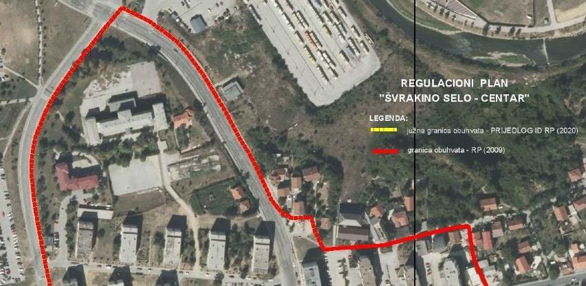 U toku izmjene RP Švrakino selo-Centar radi izgradnje Južne longitudinale
