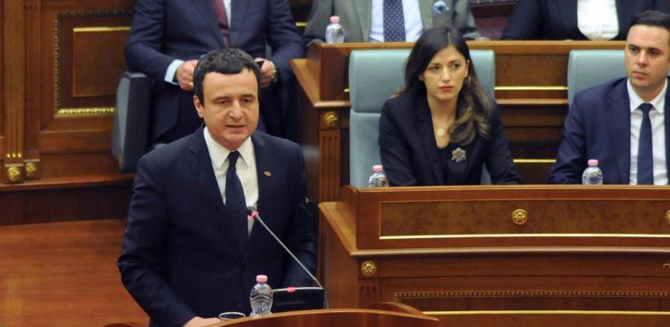 Pala Vlada Kosova, Kurti kaže da je Grenell imao veliki uticaj