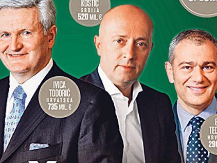 Najbogatiji biznismeni regije: Smjene na tronu Forbesove liste