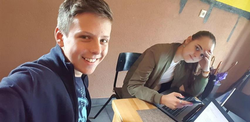 """Mladi inovatori iz Srebrenice osmislili pametni kontejner """"Smećko"""""""