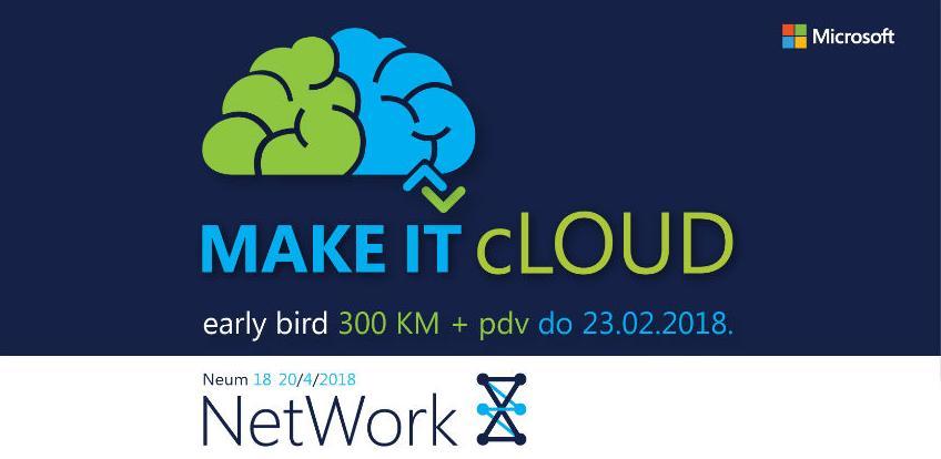 Rane prijave još uvijek otvorene za Microsoft NetWork 8 konferenciju